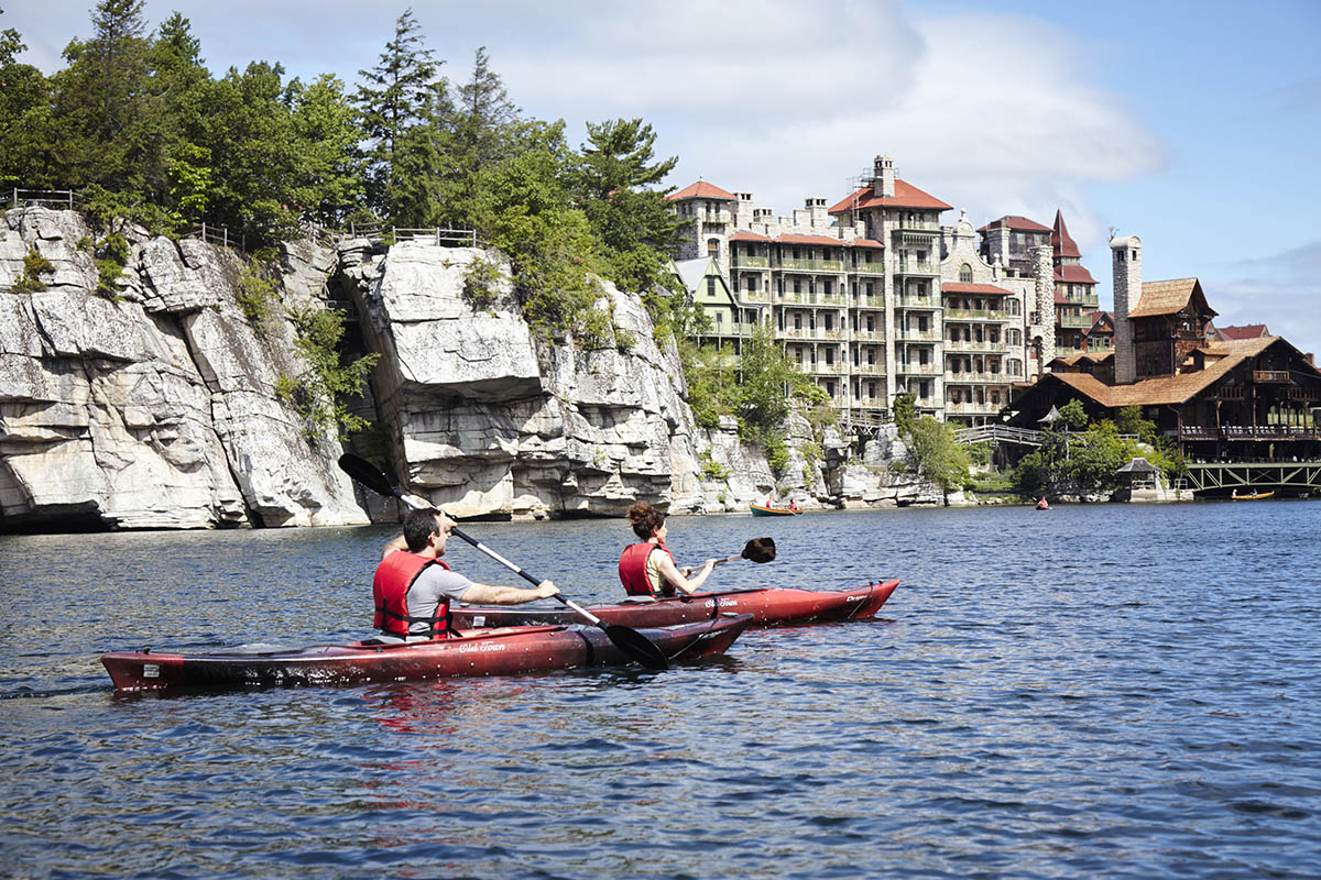 Mohonk_Kayaking_Courtesy of Mohonk Mountain House